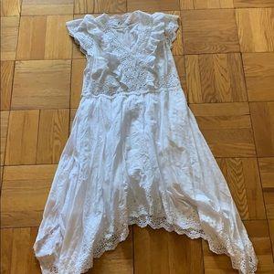 Ulla Johnson white dress Size 2 new without tags